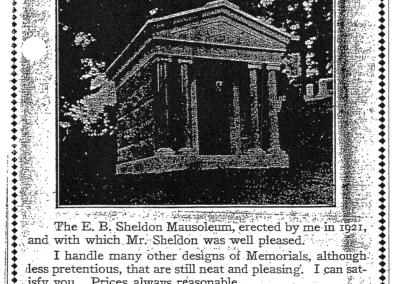 E. B. Sheldon Mausoleum